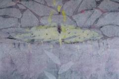 Raffaele Boemio-quasi svelato- tec.mista su tela cm.150x125- 2018